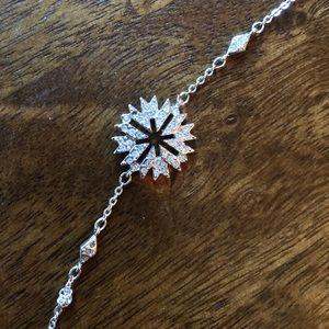 Swarovski snowflake bracelet